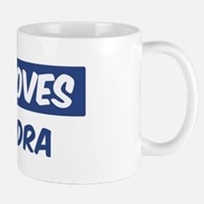 Jesus Loves Cassandra Mug