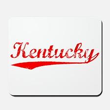 Vintage Kentucky (Red) Mousepad