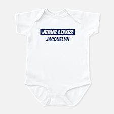 Jesus Loves Jacquelyn Onesie