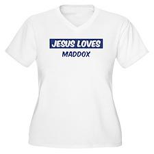 Jesus Loves Maddox T-Shirt