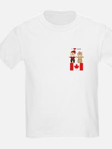 I Love Canada Kids T-Shirt