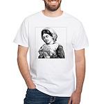 Victorian Little Girl Hand Se White T-Shirt