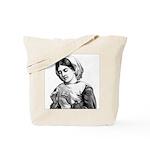 Victorian Little Girl Hand Se Tote Bag