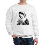 Victorian Little Girl Hand Se Sweatshirt