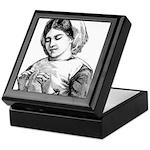 Victorian Little Girl Hand Se Keepsake Box