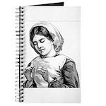Victorian Little Girl Hand Se Journal