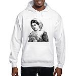 Victorian Little Girl Hand Se Hooded Sweatshirt