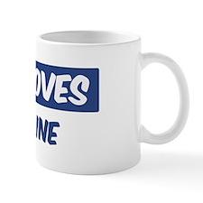 Jesus Loves Jackeline Mug