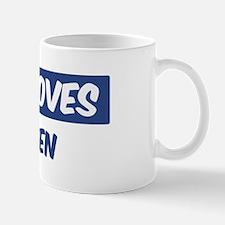 Jesus Loves Stephen Mug