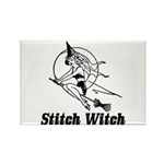 Stitch Witch Rectangle Magnet (10 pack)