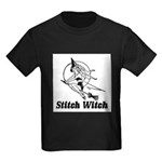 Stitch Witch Kids Dark T-Shirt