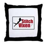 Stitch Vixen Throw Pillow