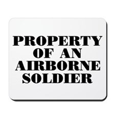 Airborne Soldier Property Mousepad
