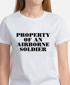 Airborne Soldier Property Tee
