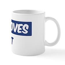 Jesus Loves Brent Mug