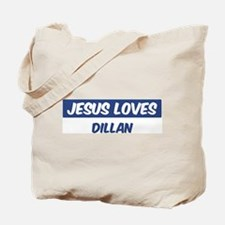 Jesus Loves Dillan Tote Bag