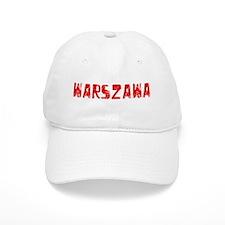Warszawa Faded (Red) Baseball Baseball Cap