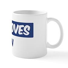 Jesus Loves Devin Mug