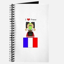 I Love France Journal