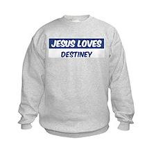 Jesus Loves Destiney Jumpers
