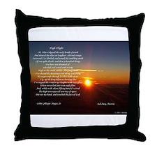 High Flight Austria Sunrise Throw Pillow