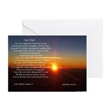 High Flight Austria Sunrise Greeting Cards (Packag