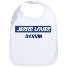Jesus Loves Darian Bib