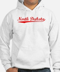 Vintage North Dakota (Red) Hoodie