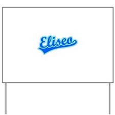 Retro Eliseo (Blue) Yard Sign