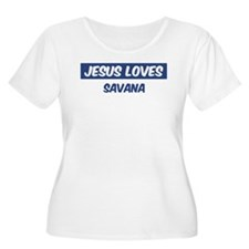 Jesus Loves Savana T-Shirt
