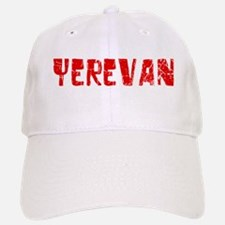 Yerevan Faded (Red) Baseball Baseball Cap