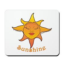 Cute Smiling Sun Mousepad