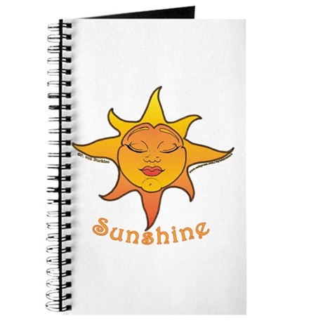 Cute Smiling Sun Journal