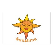 Cute Smiling Sun Postcards (Package of 8)