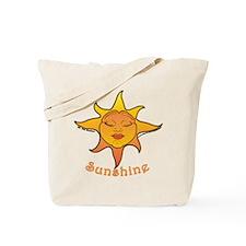 Cute Smiling Sun Tote Bag