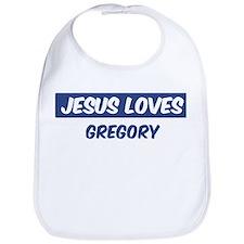 Jesus Loves Gregory Bib