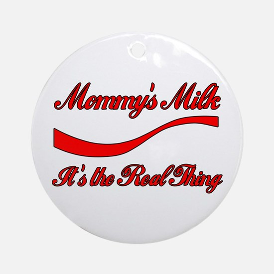 Mommy Milk Keepsake (Round)