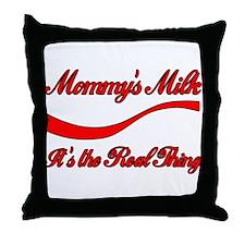 Mommy Milk Throw Pillow