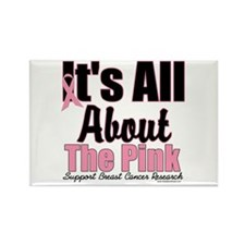 It's All About The Pink Rectangle Magnet (10 pack)