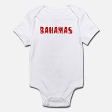 Bahamas Faded (Red) Onesie