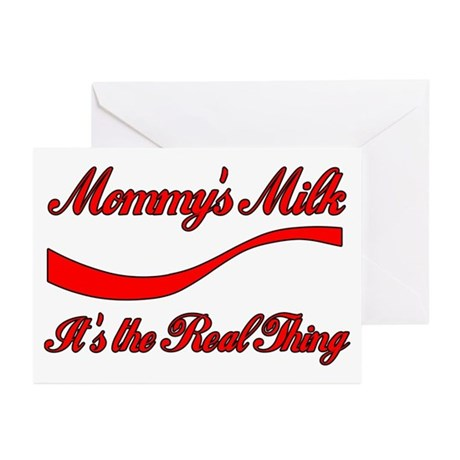 Mommy Milk Greeting Cards (Pk of 10)