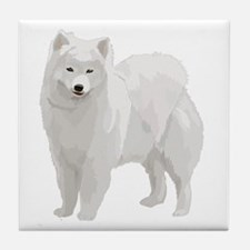 Beautiful Samoyed Tile Coaster