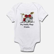 my daddy plays drums! Body Suit