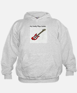 Funny My dad plays bass Hoodie
