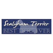 Best Dog Ever Sealyham Terrier Bumper Bumper Sticker