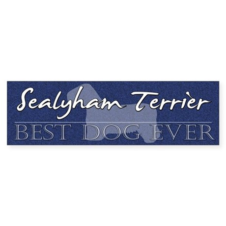 Best Dog Ever Sealyham Terrier Bumper Sticker