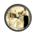 Mad Marching Girl Wall Clock