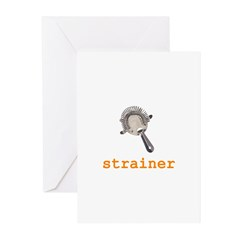 Strainer Greeting Cards (Pk of 20)