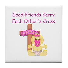 Good Friends... Tile Coaster