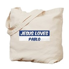Jesus Loves Pablo Tote Bag